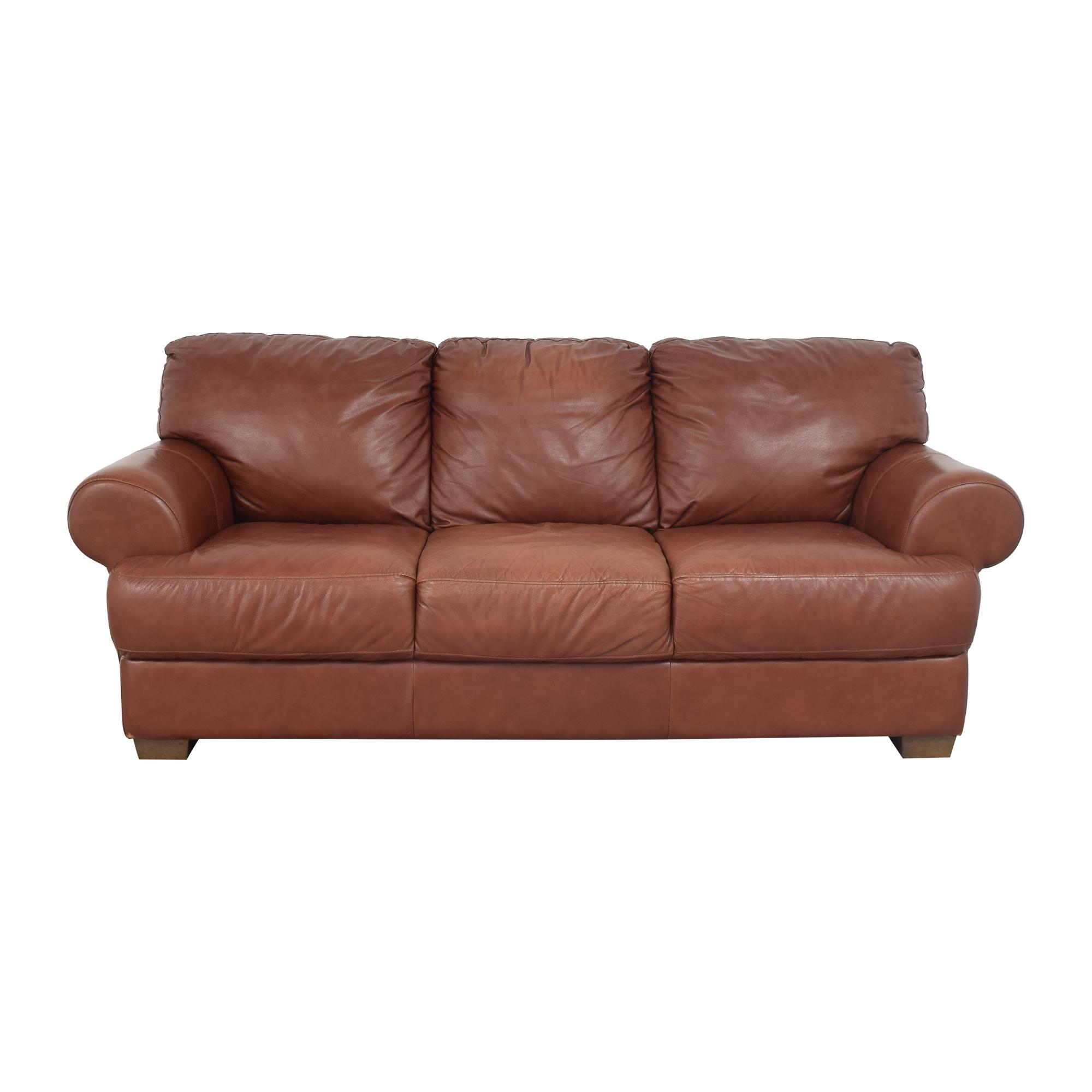 buy Chateau d'Ax Chateau d'Ax Three Cushion Roll Arm Sofa online