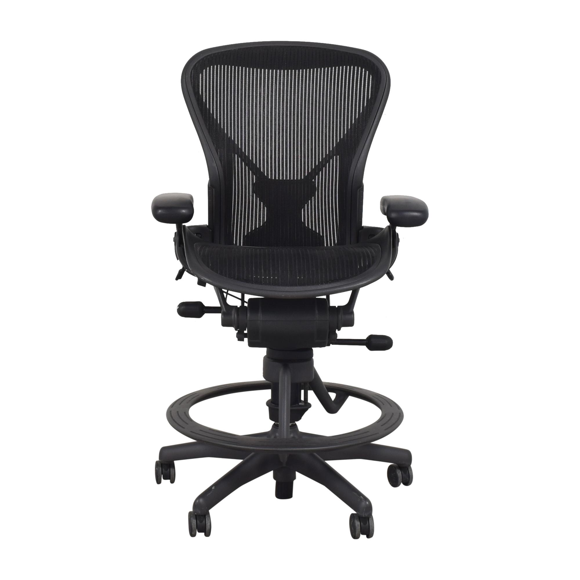 Herman Miller Herman Miller Aeron Stool Drafting Chair Home Office Chairs