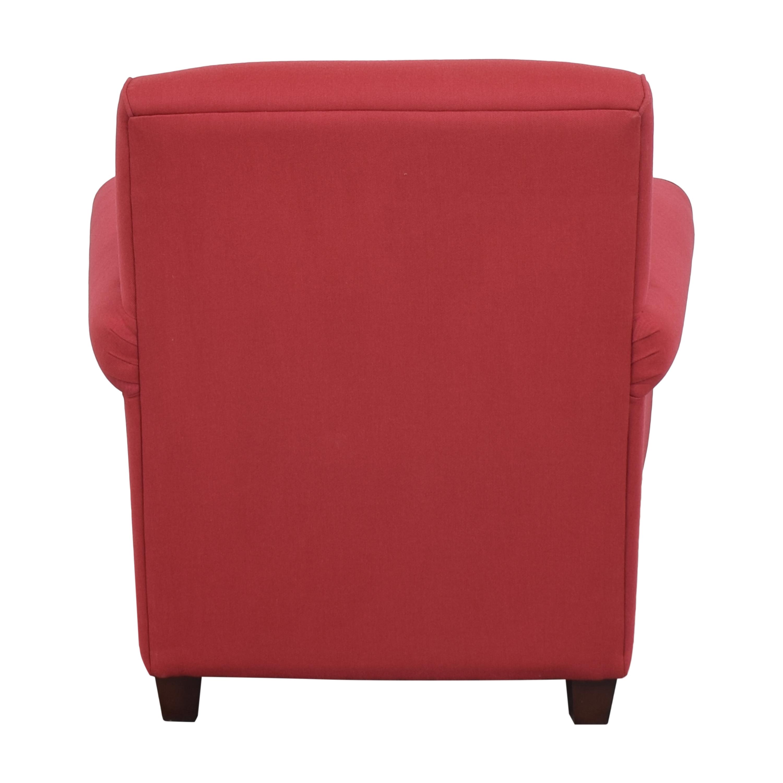 shop Raymour & Flanigan Roll Arm Chair Raymour & Flanigan