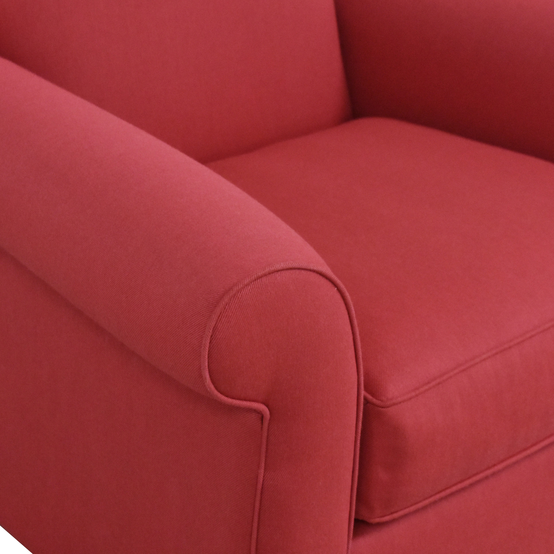 Raymour & Flanigan Raymour & Flanigan Roll Arm Chair nj