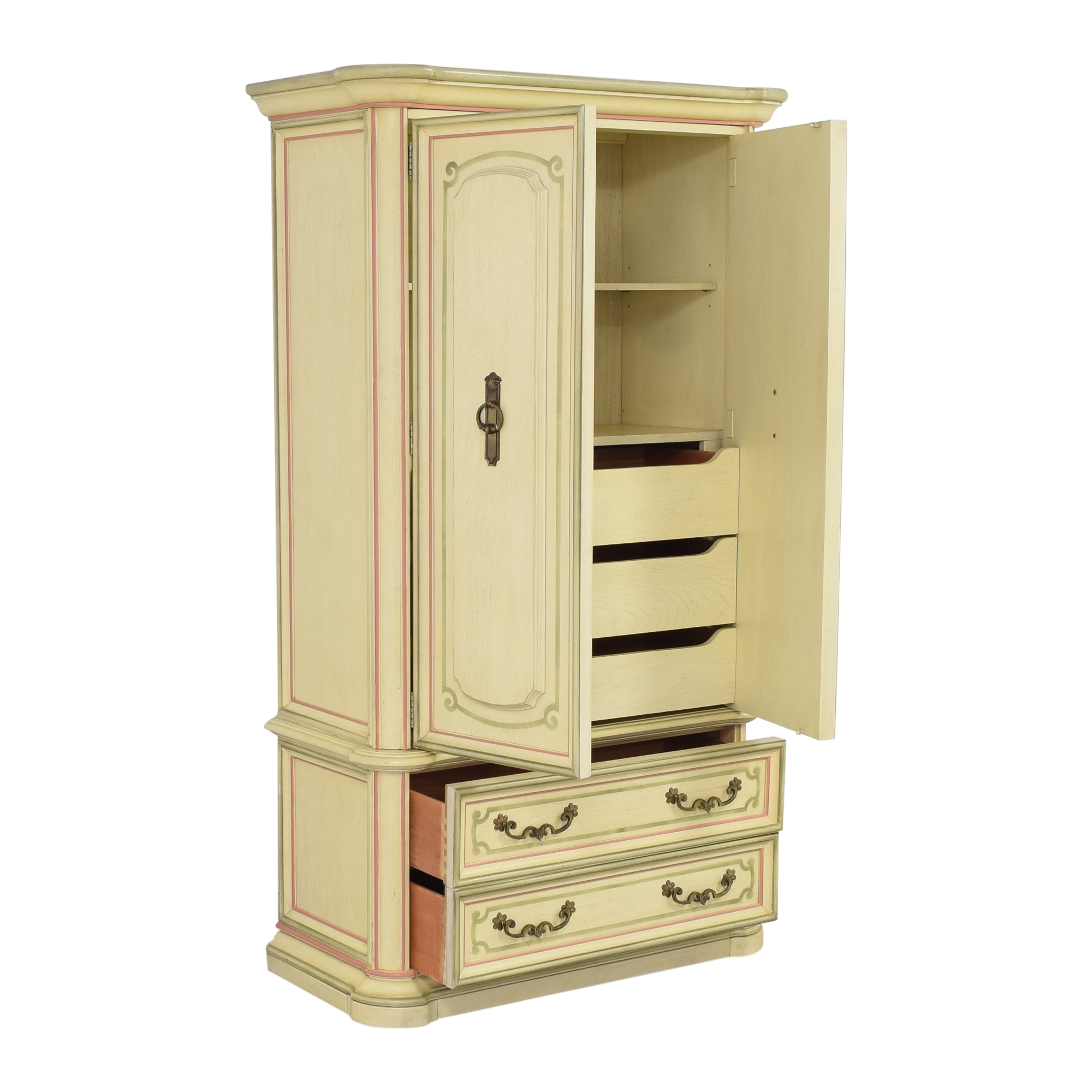 Stanley Furniture Stanley Furniture French Provincial-Style Armoire second hand