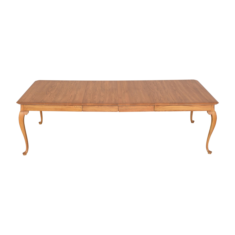 Kincaid Furniture Kincaid Furniture Extendable Dining Table brown
