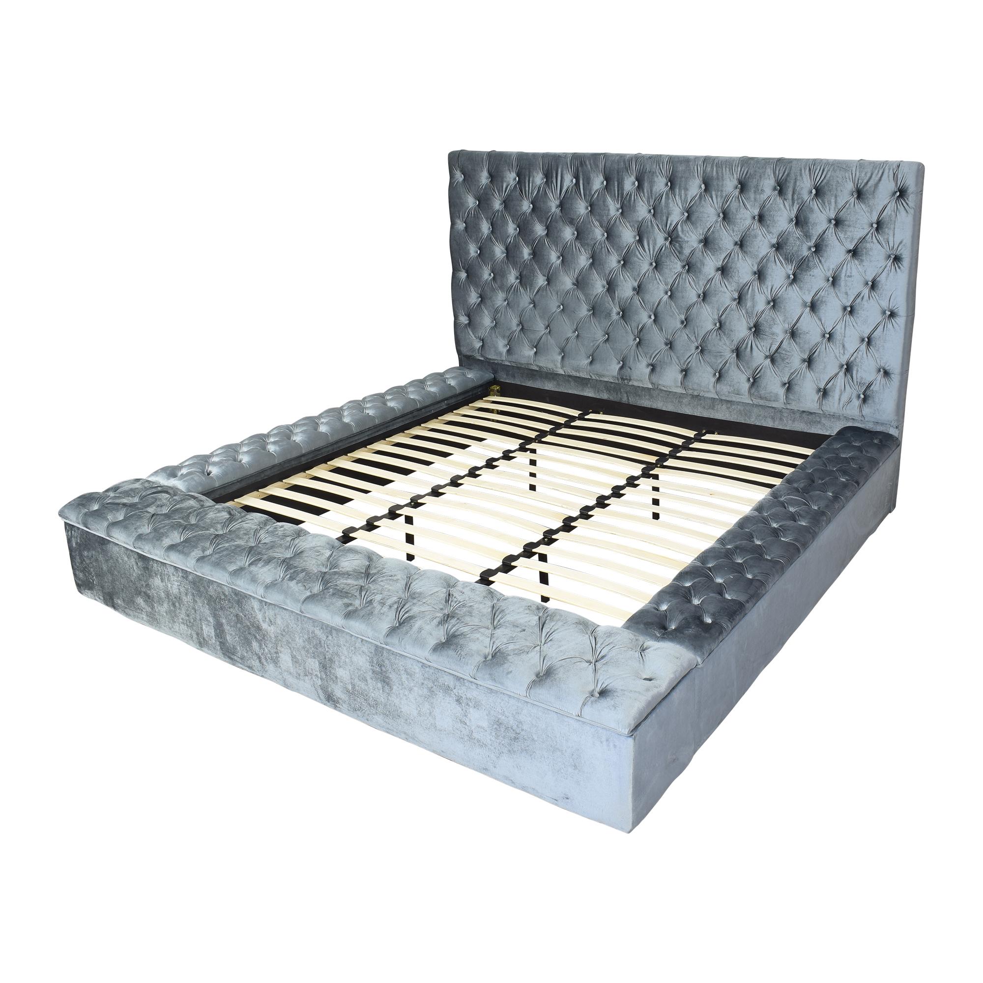 Meridian Furniture Meridian Bliss King Storage Bed used