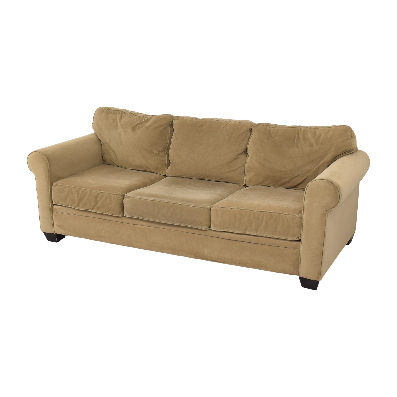 Macy's Macy's Three Cushion Sofa Classic Sofas