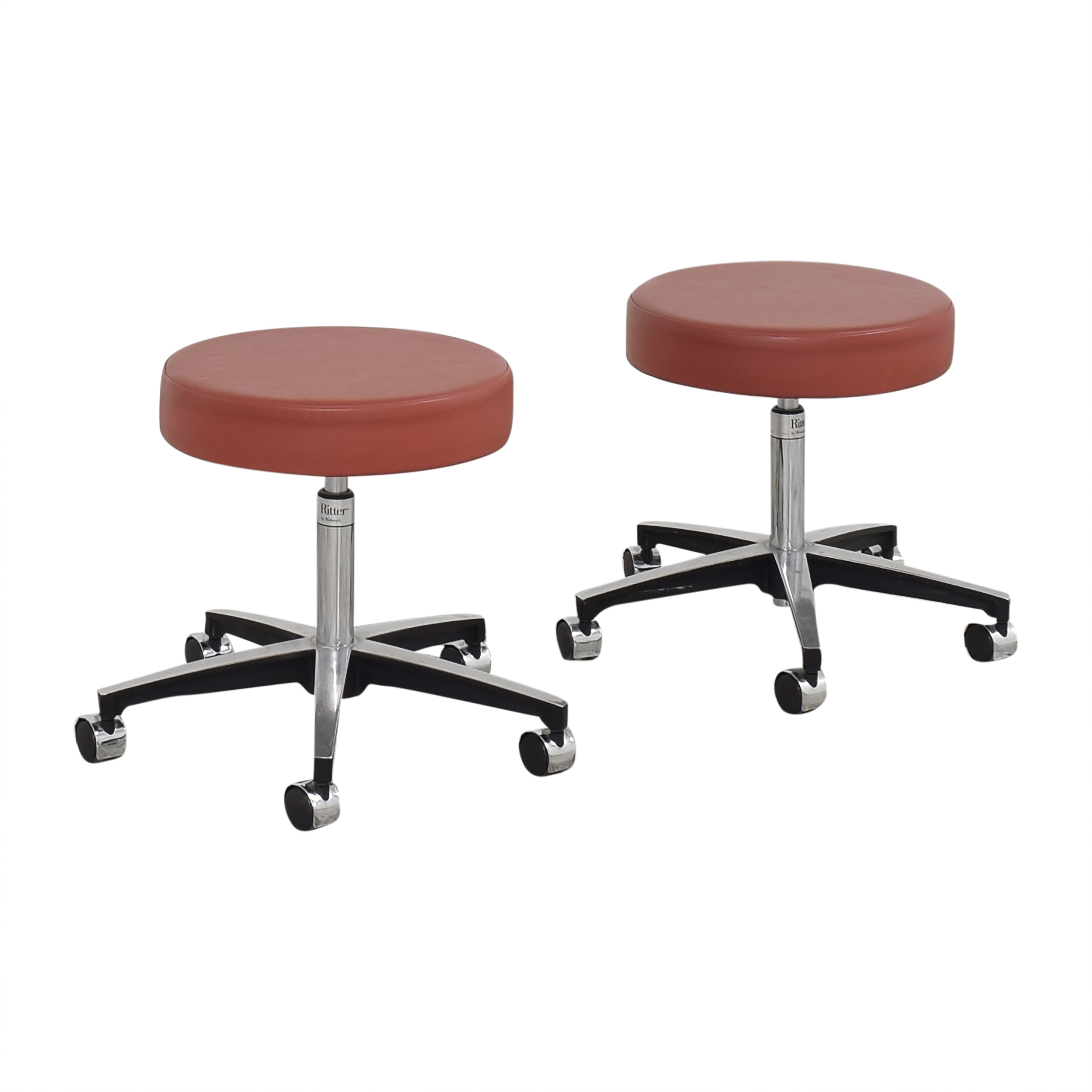 Ritter Ritter by Midmark 276 Air Lift Stools used