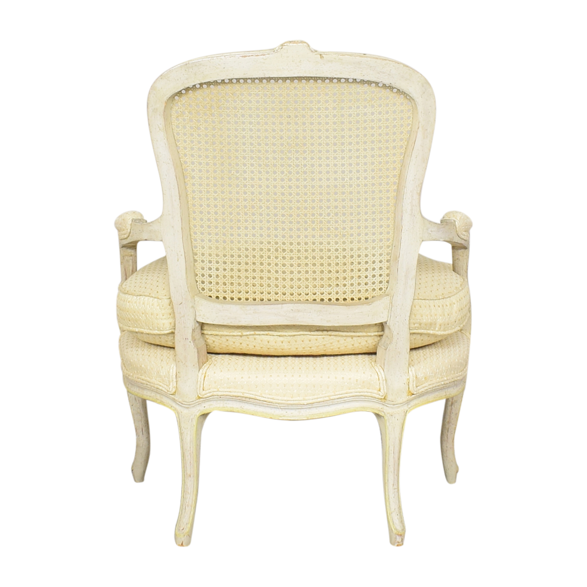 buy Vintage Cane Back Accent Chair  Accent Chairs