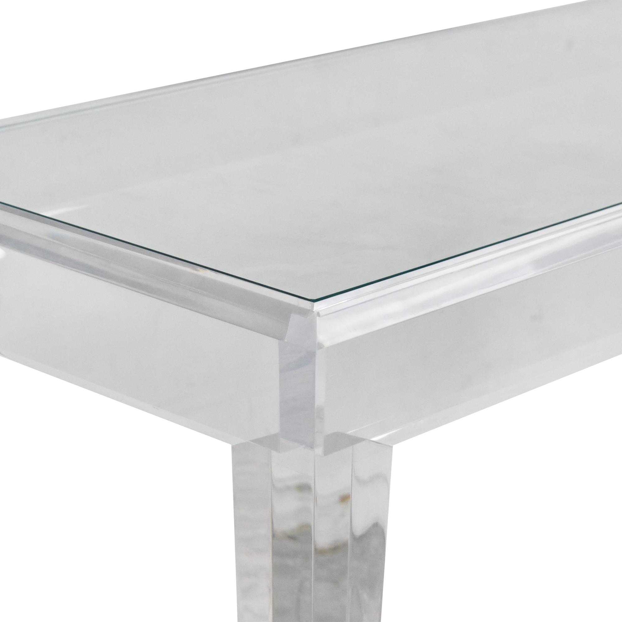 Custom Modern Console Table ct