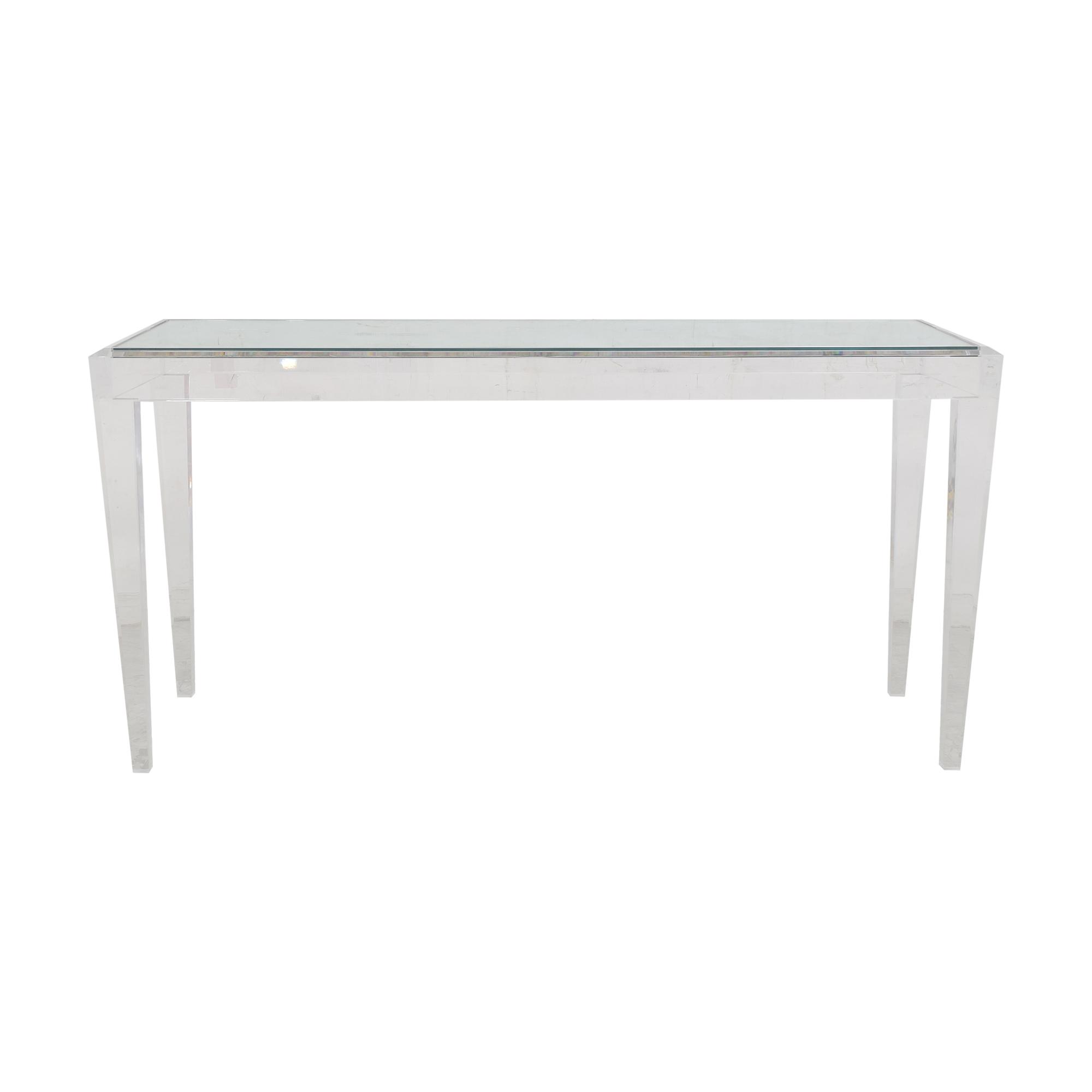 Custom Modern Console Table