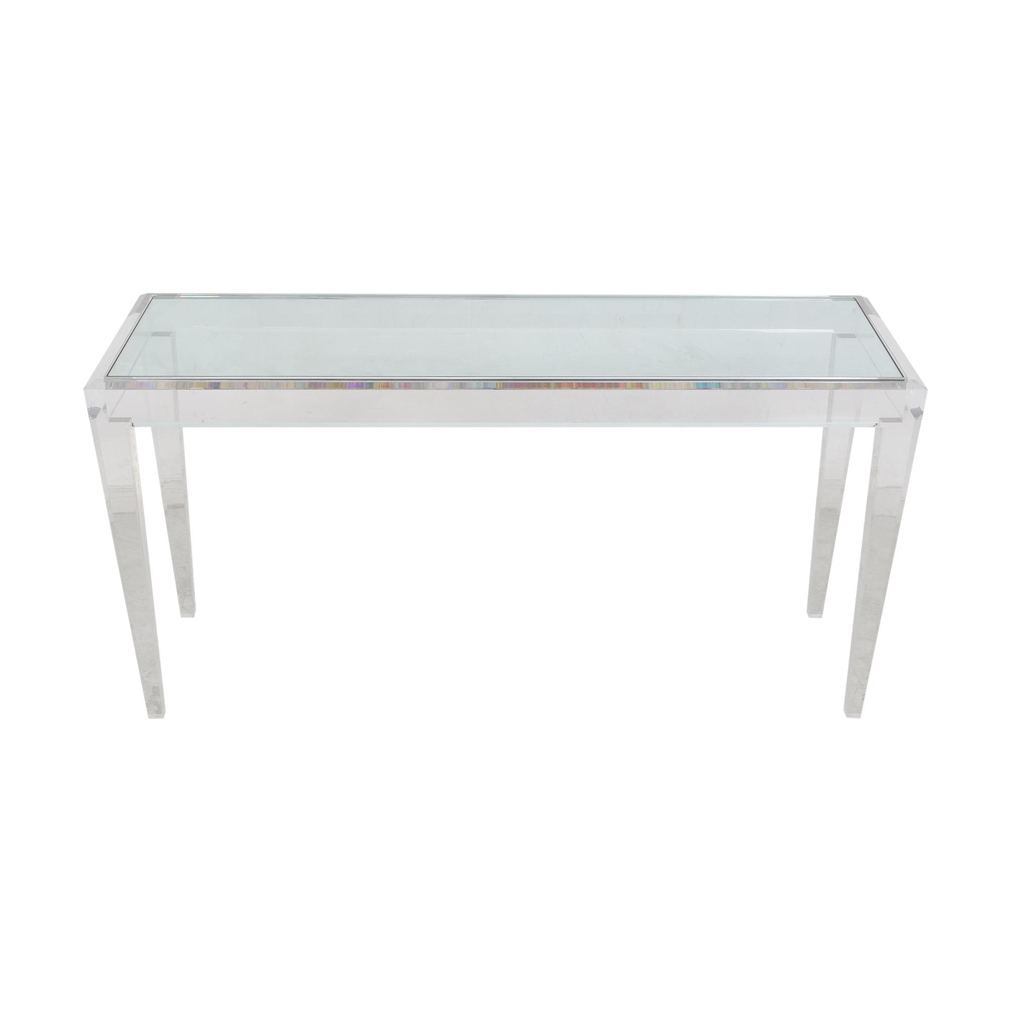 Custom Modern Console Table nyc