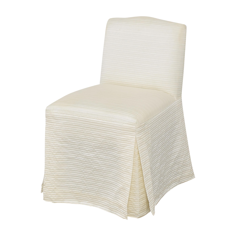Nancy Corzine Nancy Corzine Claudette Slipper Dining Chair dimensions
