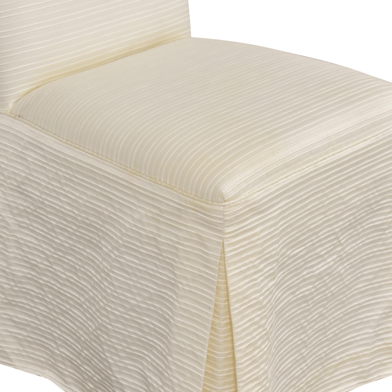 Nancy Corzine Nancy Corzine Claudette Slipper Dining Chair nj