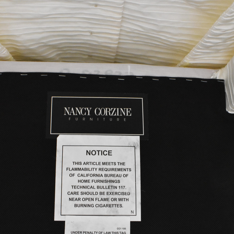Nancy Corzine Nancy Corzine Claudette Slipper Dining Chair ct