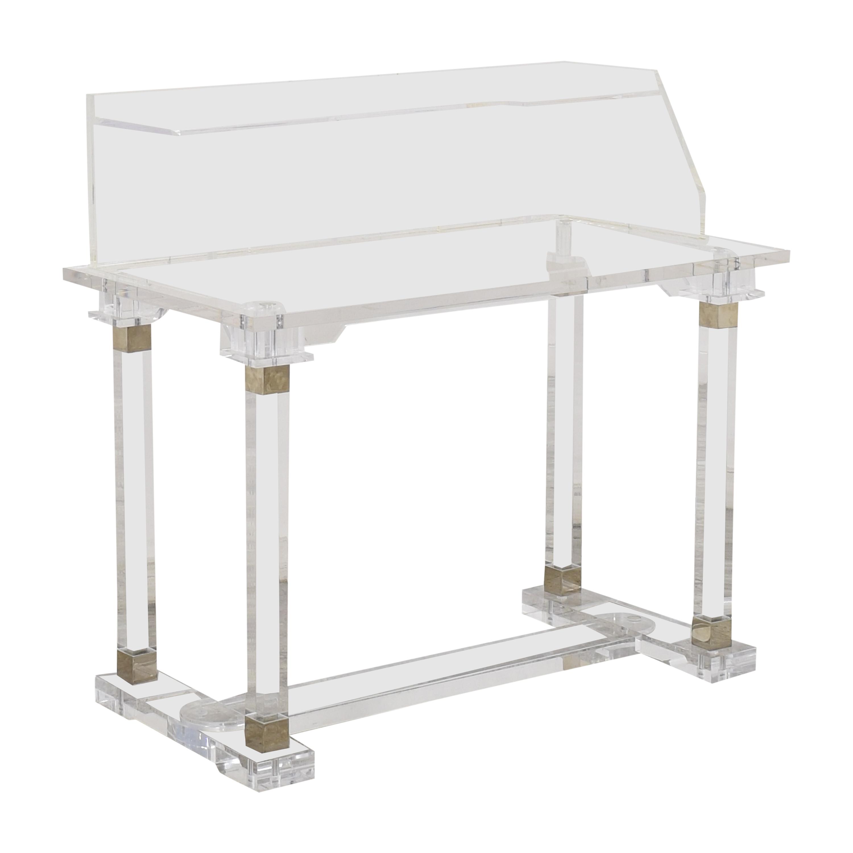 shop  Transparent Modern Desk with Hutch online