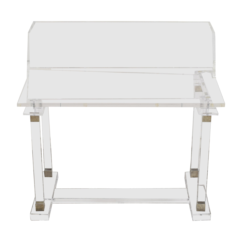 buy  Transparent Modern Desk with Hutch online
