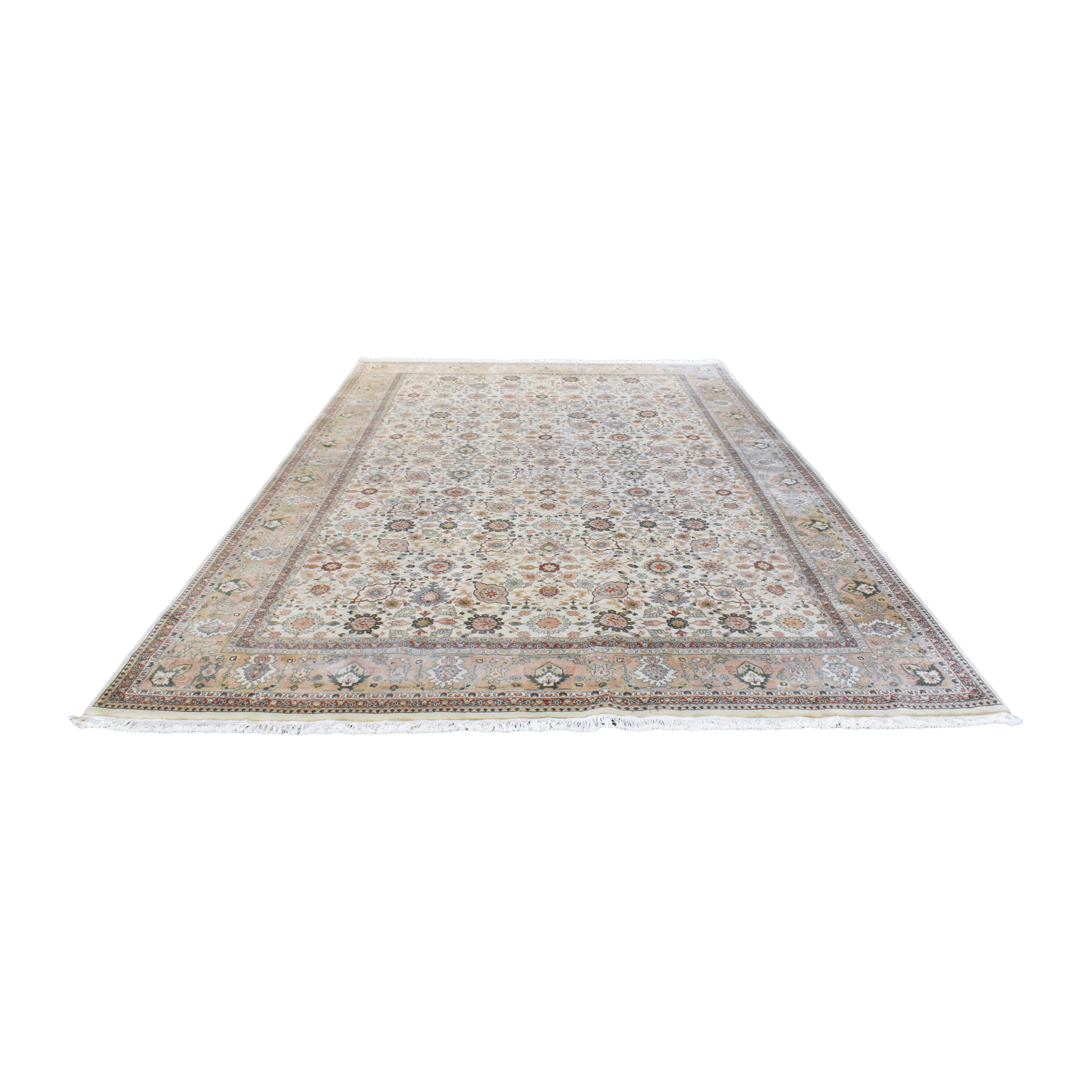 Traditional Patterned Area Rug / Rugs
