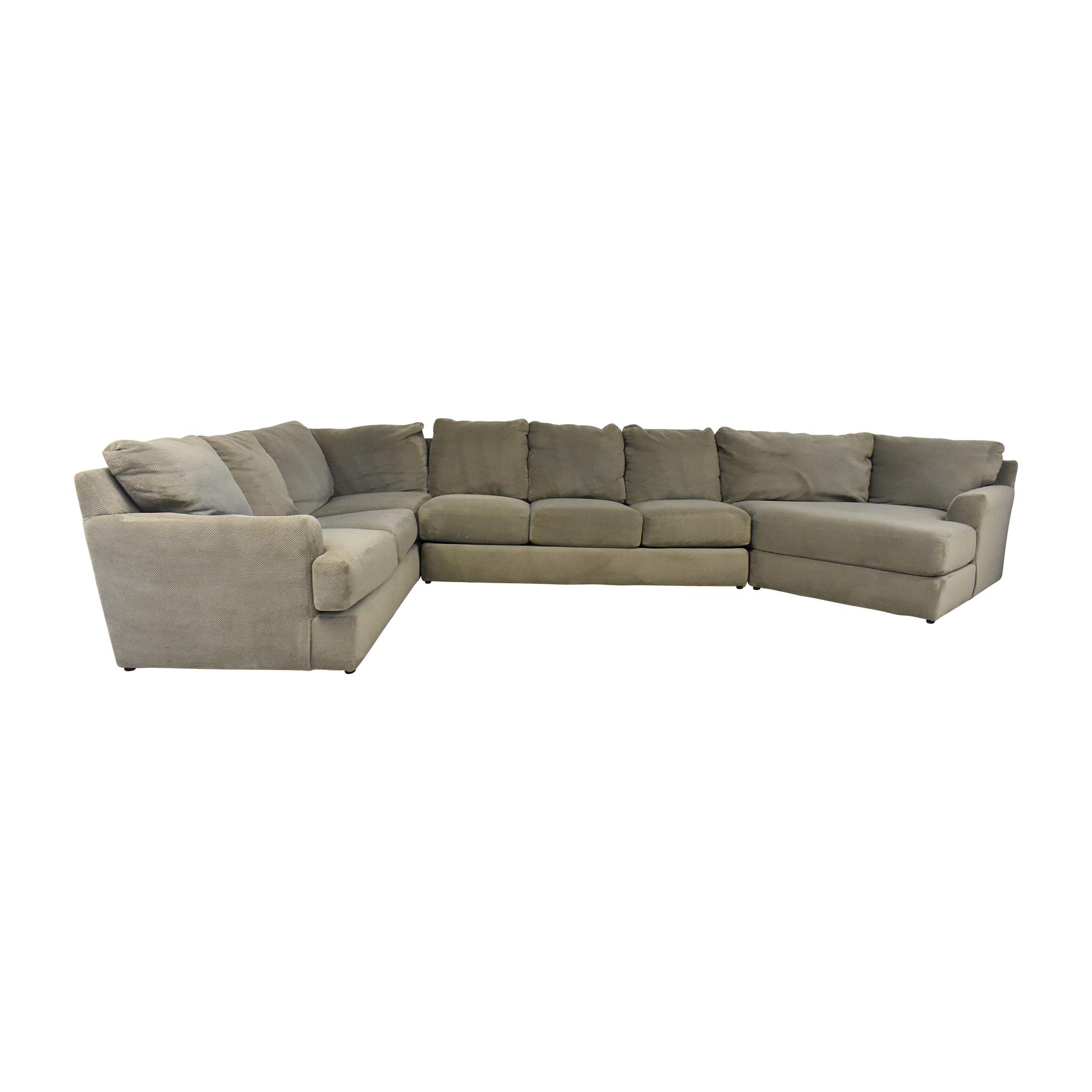 Suburban Furniture Suburban Furniture Wedge Sectional Sofa nj