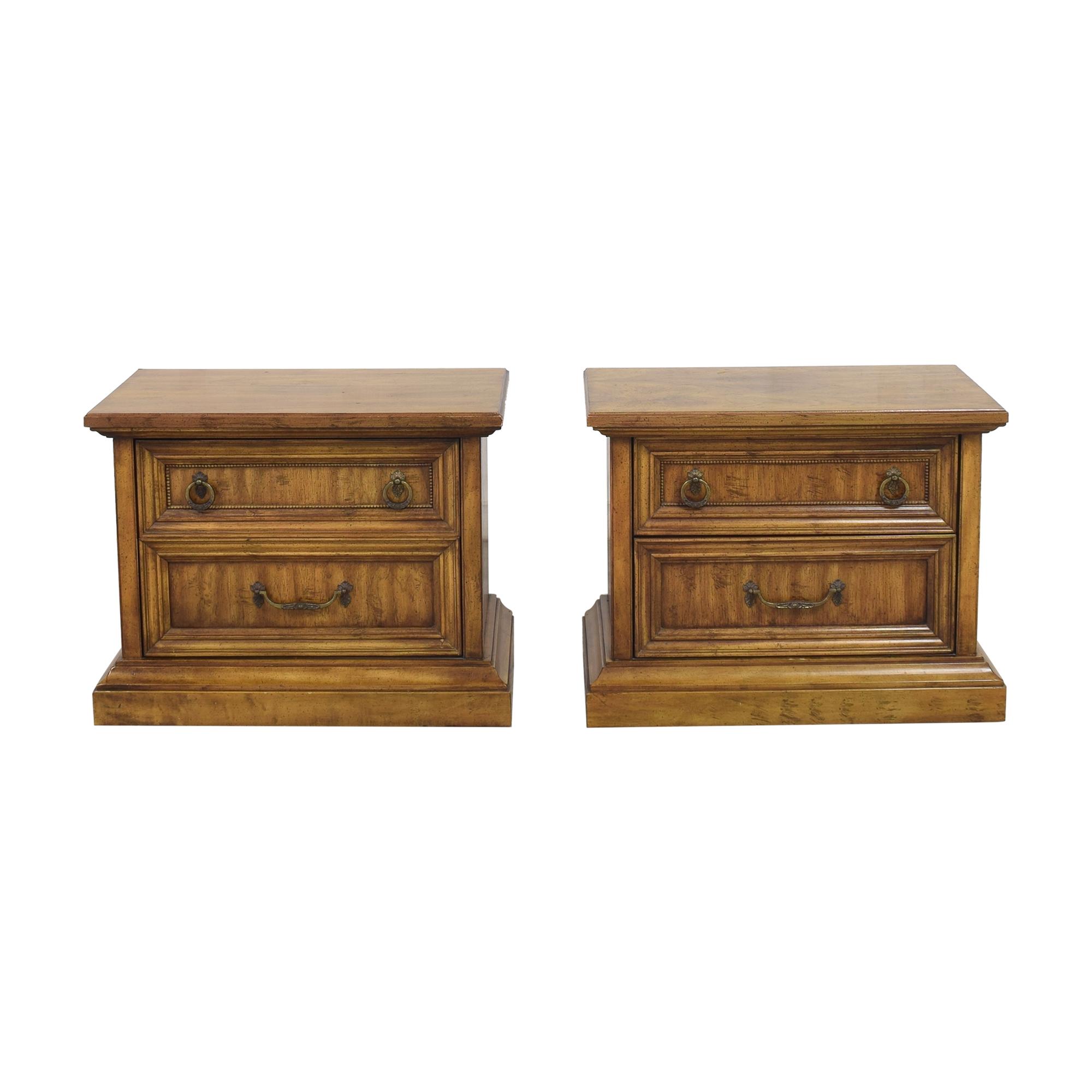 Stanley Furniture Stanley Furniture Two Drawer Nightstands nj