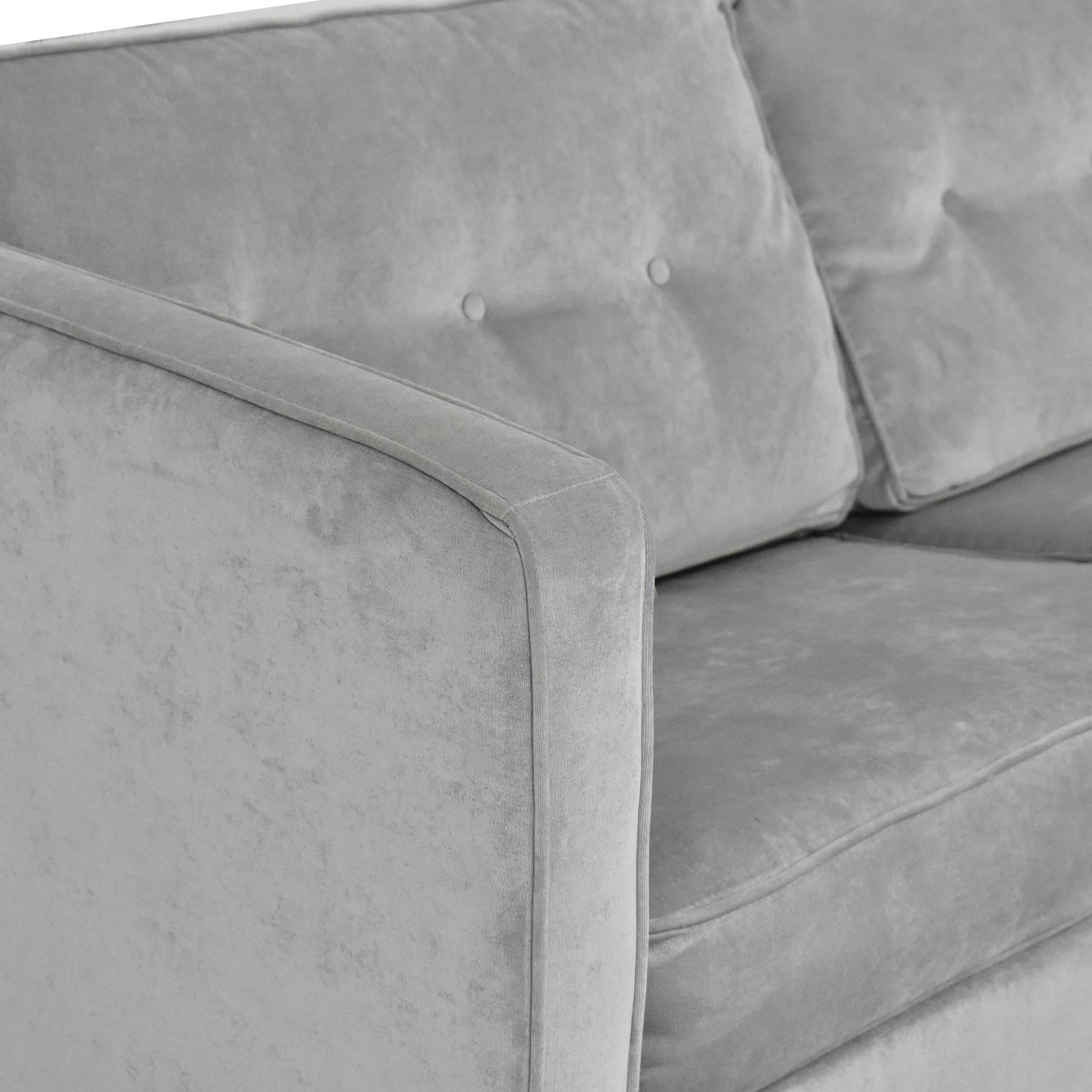 Wayfair Wayfair Ebern Designs Dengler Square Arm Sleeper Sofa nj