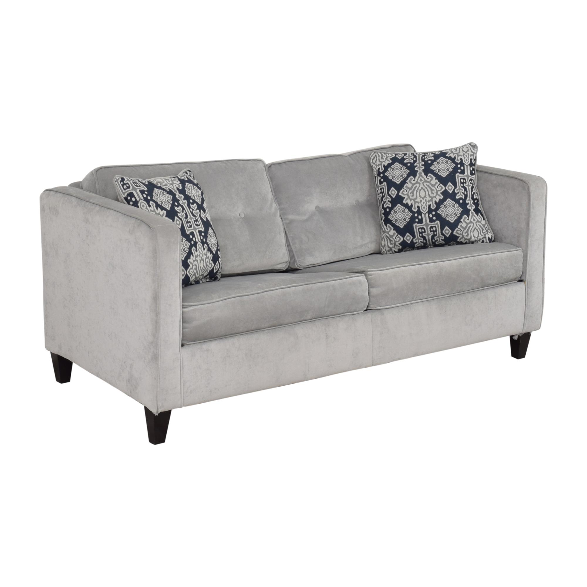 buy Wayfair Ebern Designs Dengler Square Arm Sleeper Sofa Wayfair
