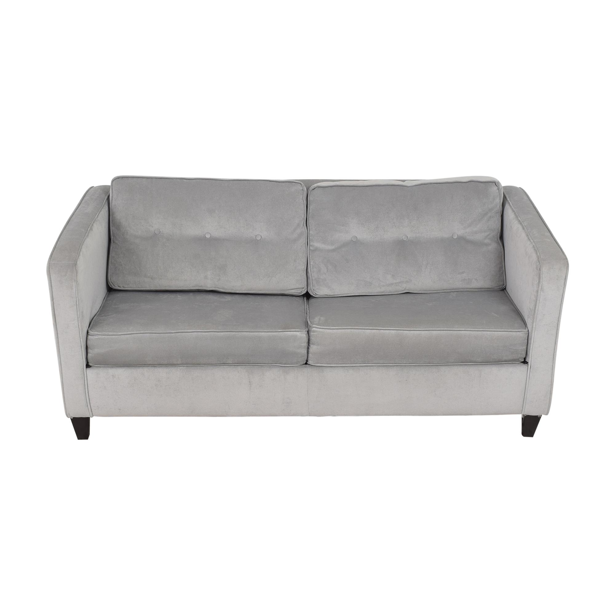 Wayfair Wayfair Ebern Designs Dengler Square Arm Sleeper Sofa for sale