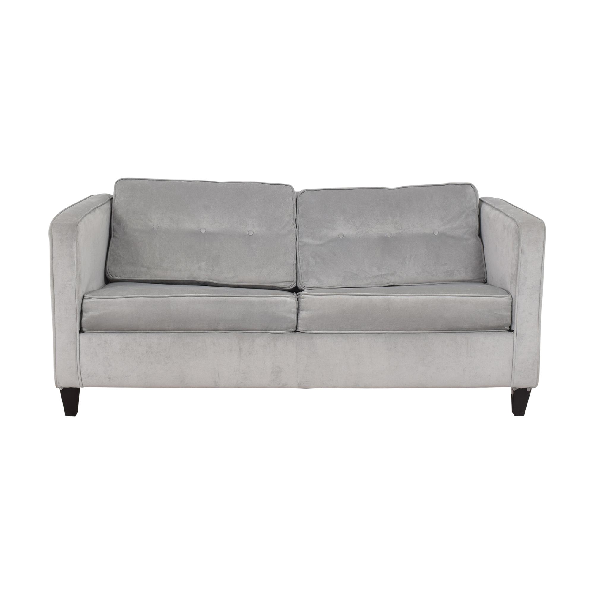 shop Wayfair Ebern Designs Dengler Square Arm Sleeper Sofa Wayfair Sofa Beds