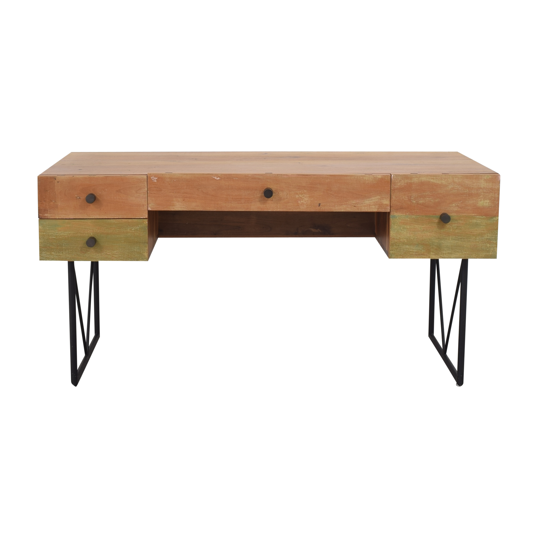 buy Crate & Barrel Crate & Barrel Atwood Reclaimed Desk online