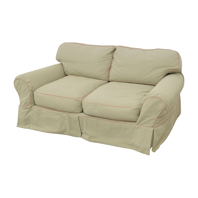 Lee Industries Lee Industries Slipcovered Two Cushion Sofa nj