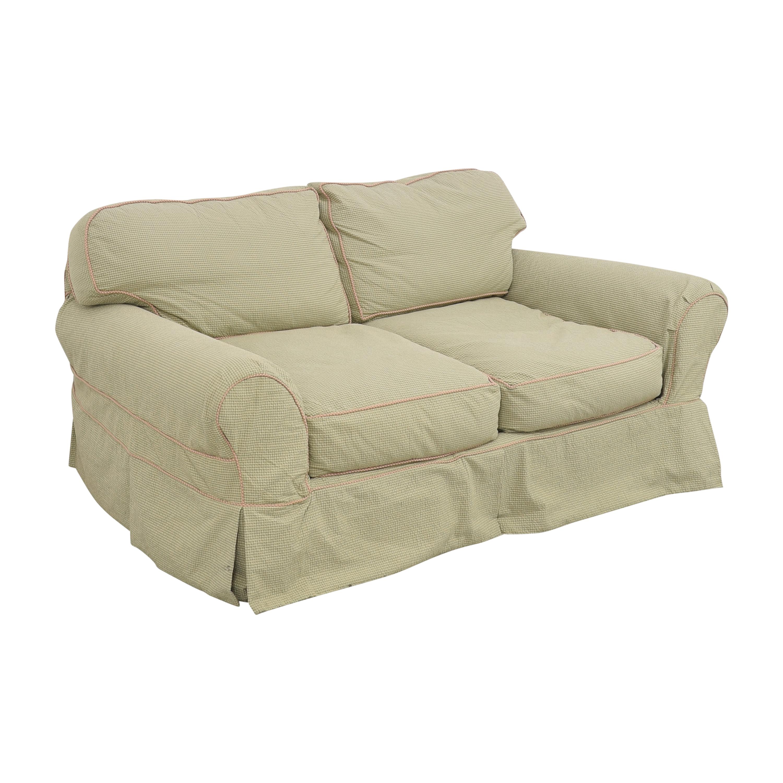 Lee Industries Slipcovered Two Cushion Sofa / Sofas