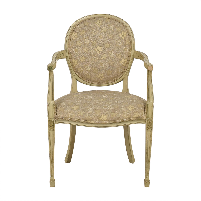 Sherrill Furniture Sherrill Furniture Medallion Back Arm Chair used