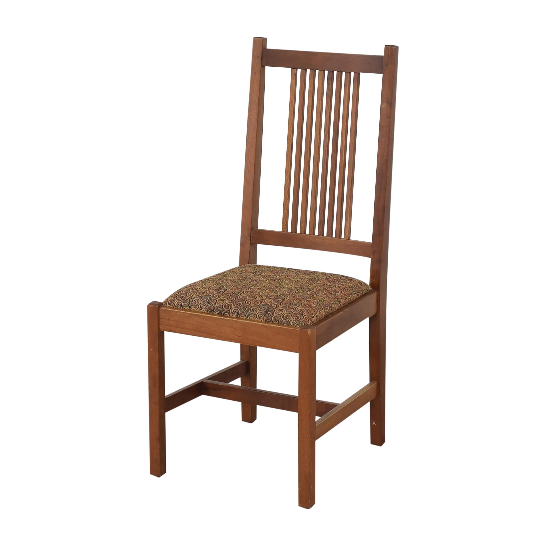 buy Stickley Furniture Shaker Dining Side Chairs Stickley Furniture Chairs