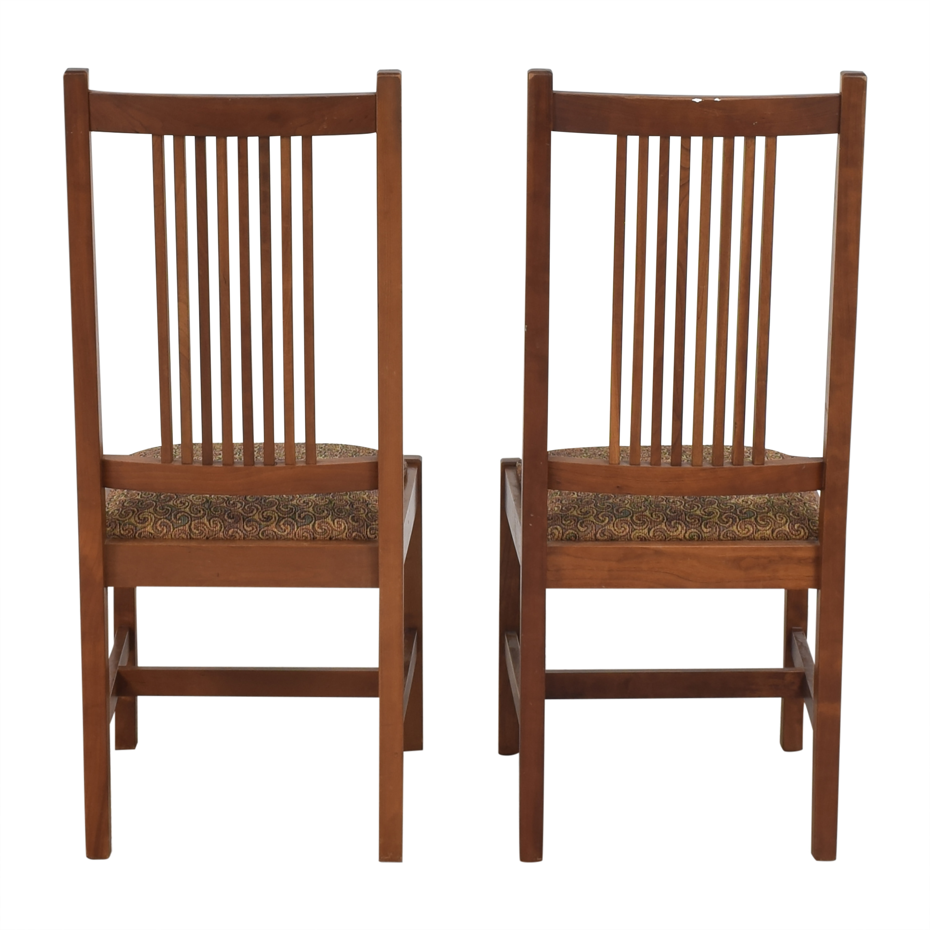 Stickley Furniture Stickley Furniture Shaker Dining Side Chairs second hand