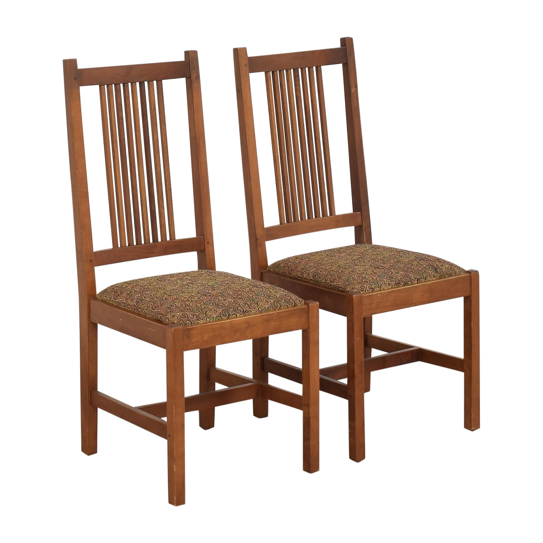 shop Stickley Furniture Shaker Dining Side Chairs Stickley Furniture Chairs