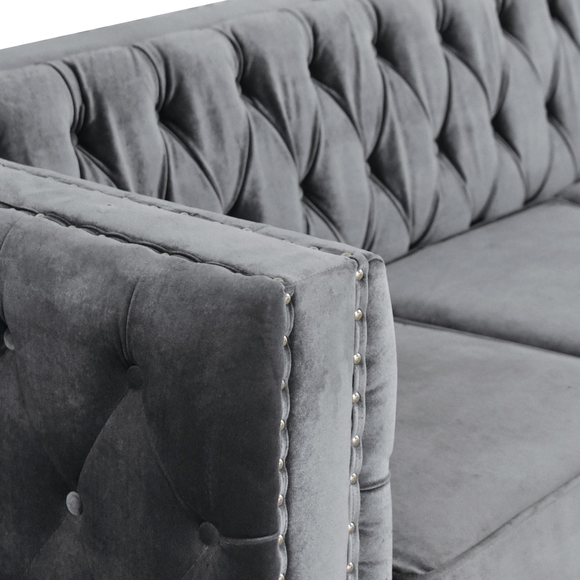 Wayfair Wayfair Tuxedo Nailhead Sofa