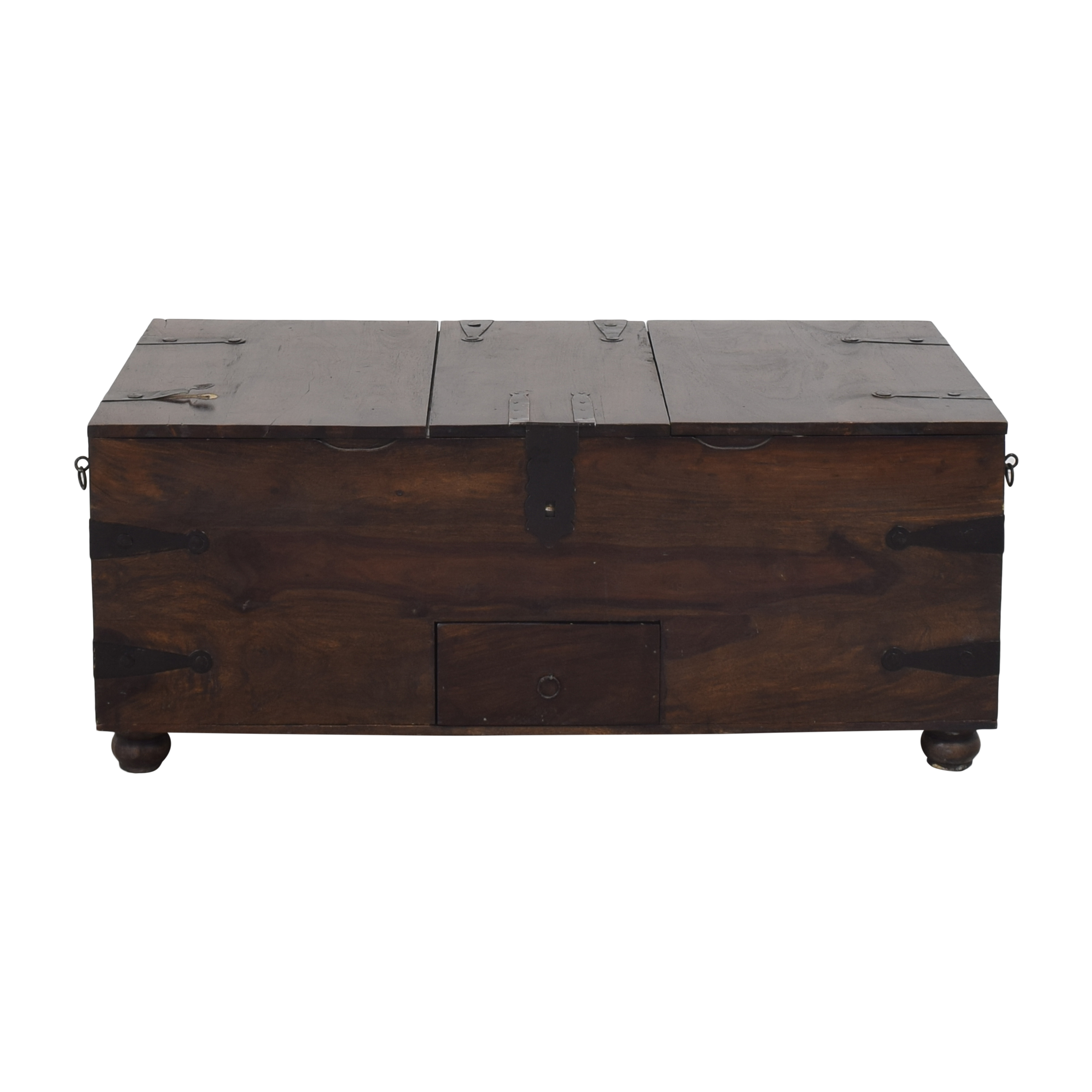 shop Crate & Barrel Crate & Barrel Taka Trunk Coffee Table online