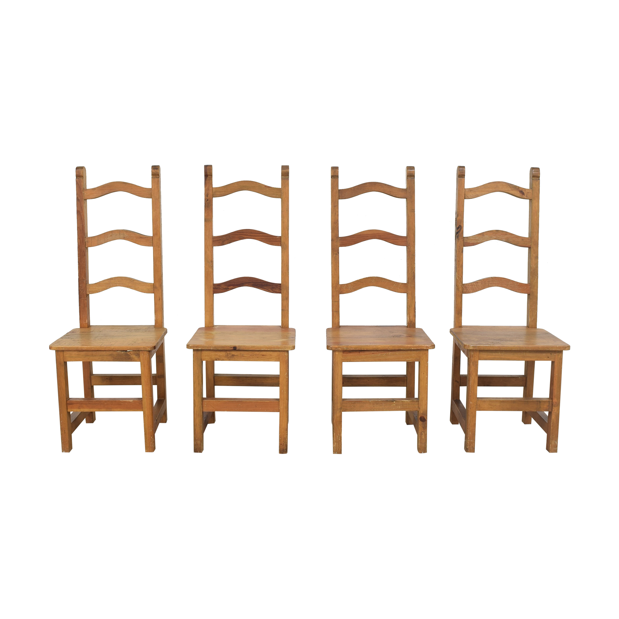 ABC Carpet & Home ABC Carpet & Home Ladderback Dining Chairs Dining Chairs