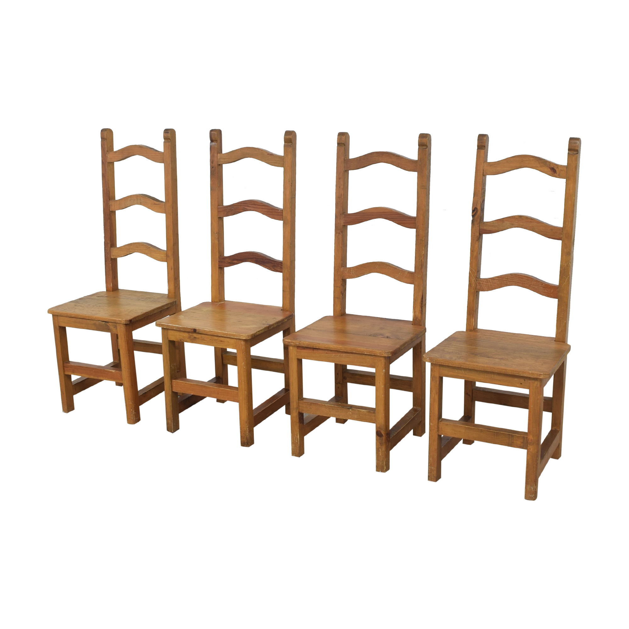 ABC Carpet & Home Ladderback Dining Chairs / Dining Chairs