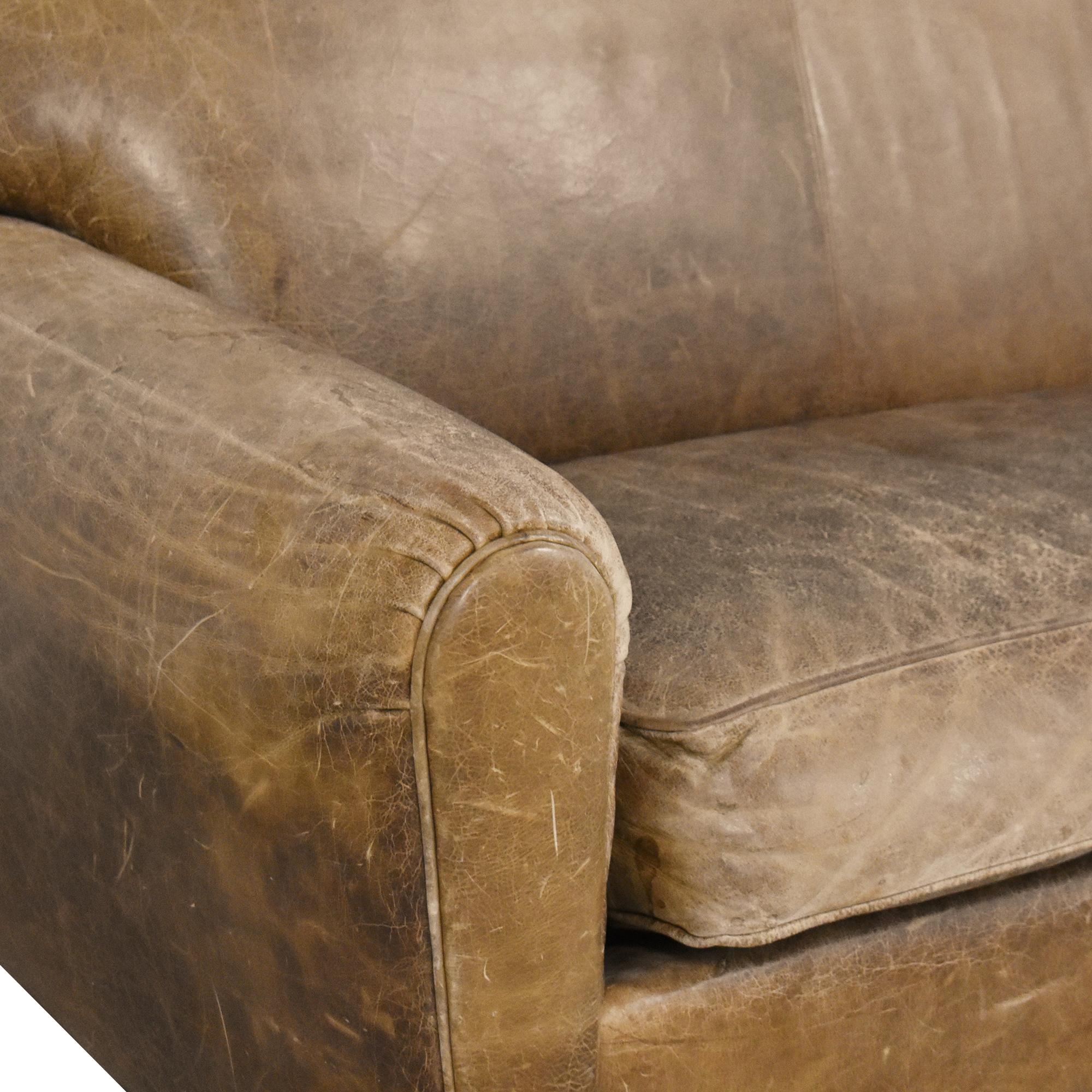 Grange Grange Distressed Sofa brown
