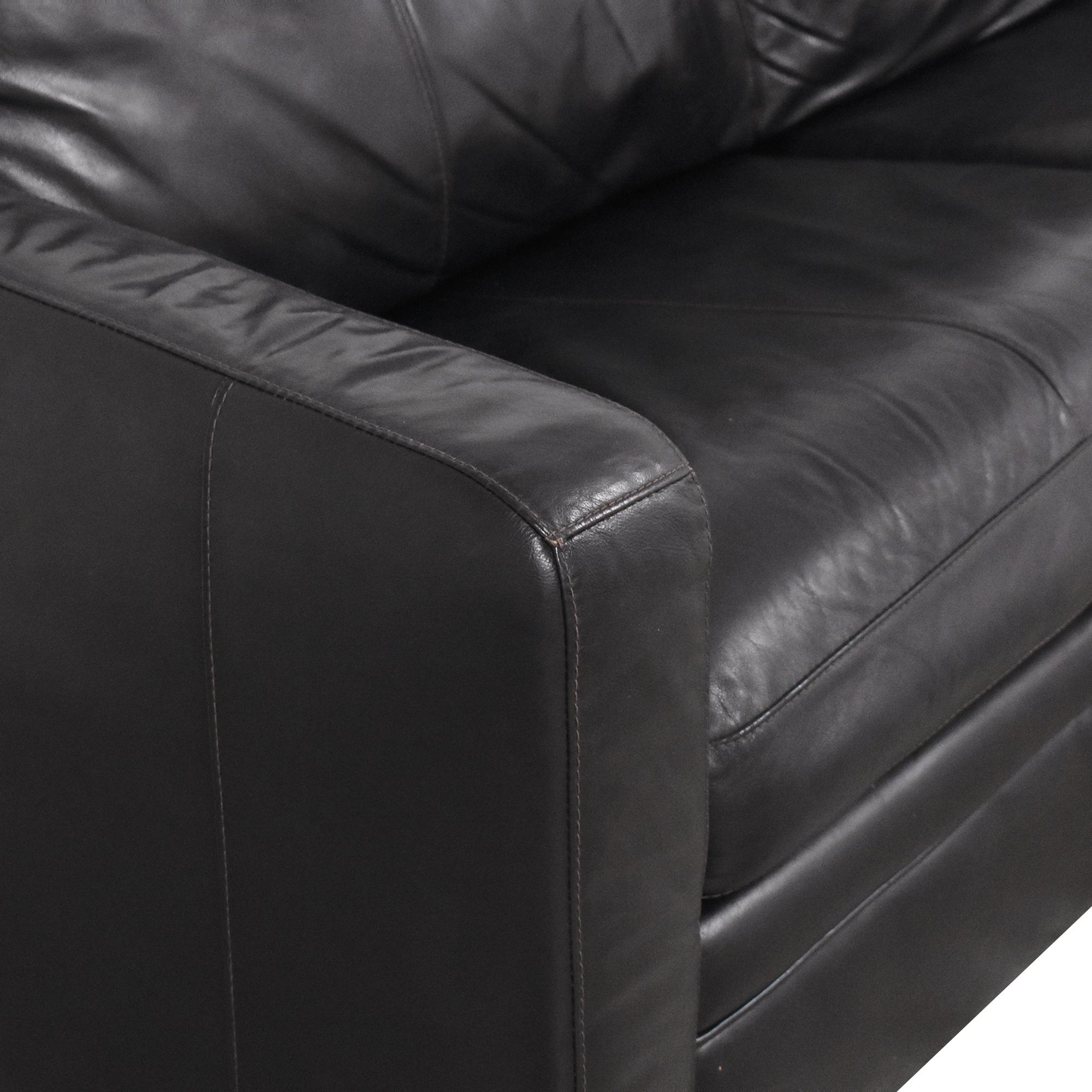 Raymour & Flanigan Raymour & Flanigan Trent Sleeper Sofa ct