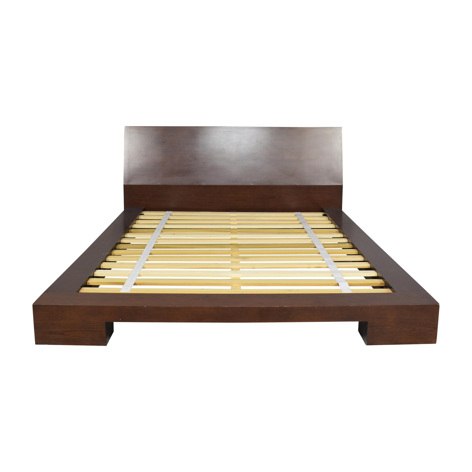 Crate & Barrel Crate & Barrel Asher Queen Bed dimensions