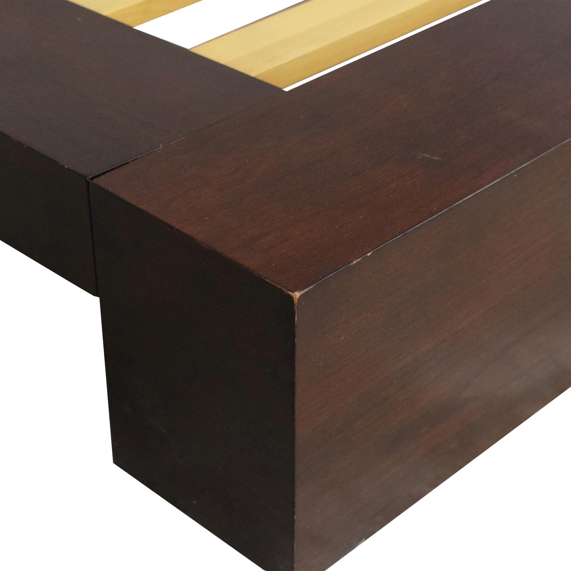 Crate & Barrel Crate & Barrel Asher Queen Bed discount