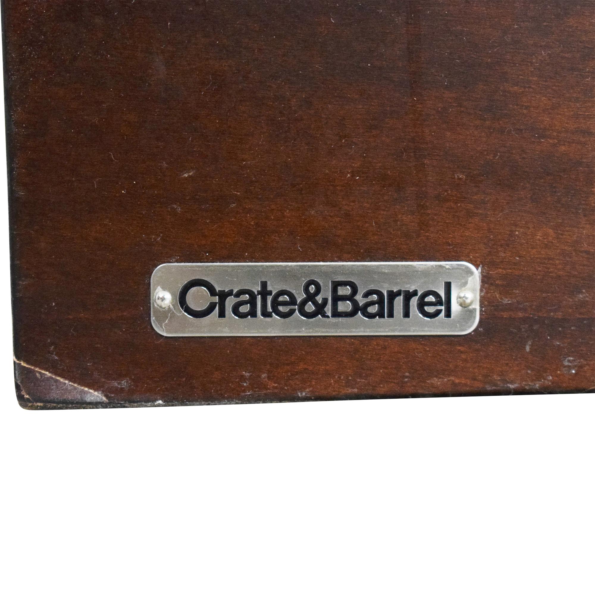 Crate & Barrel Crate & Barrel Asher Queen Bed ct