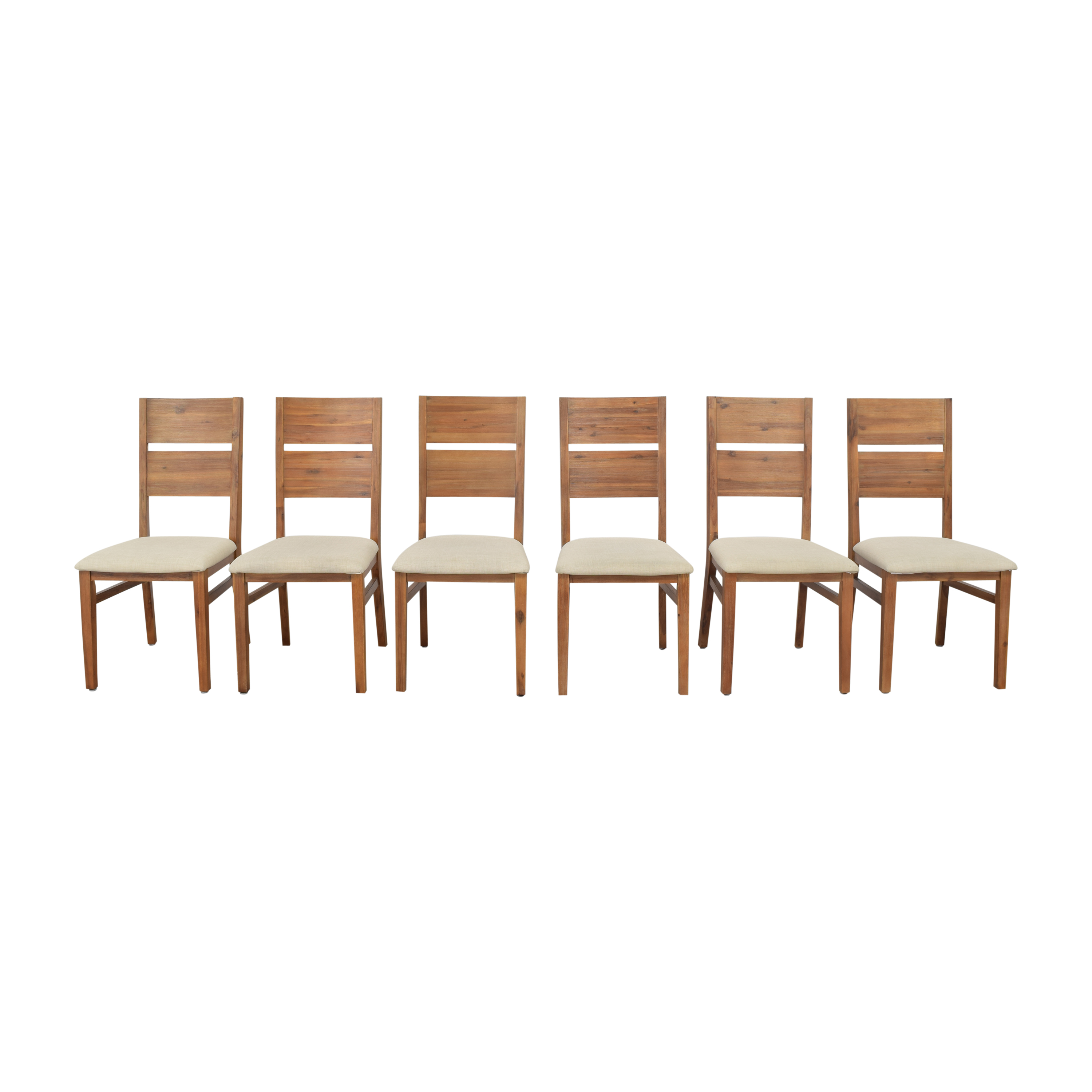 buy Cresent Slat Back Dining Side Chairs Cresent Furniture