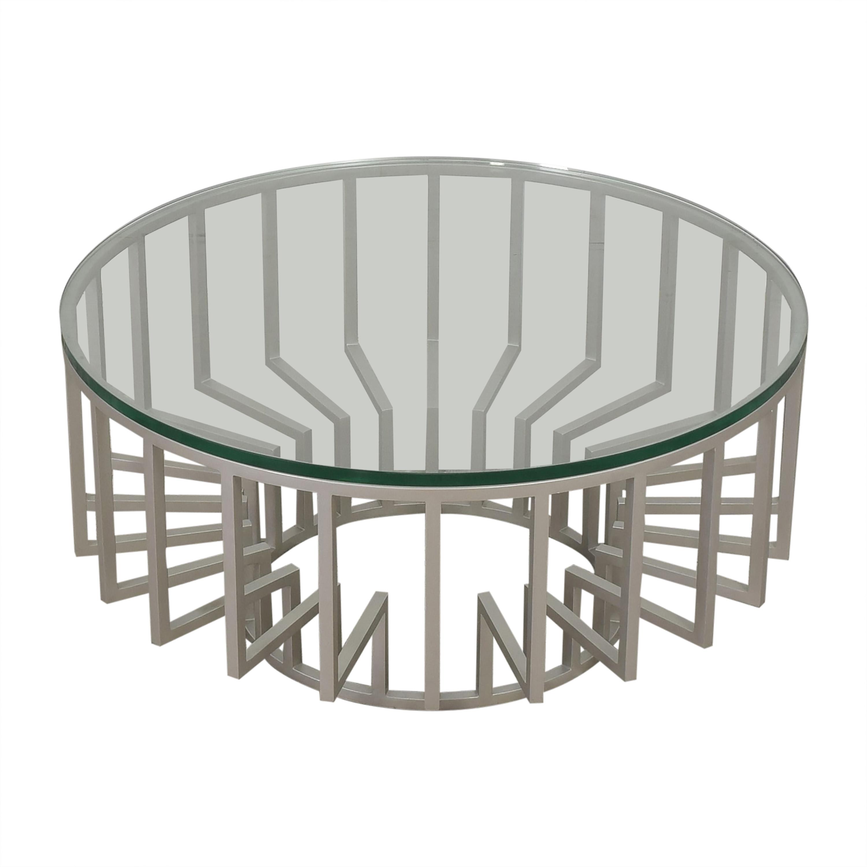 Round Translucent Coffee Table