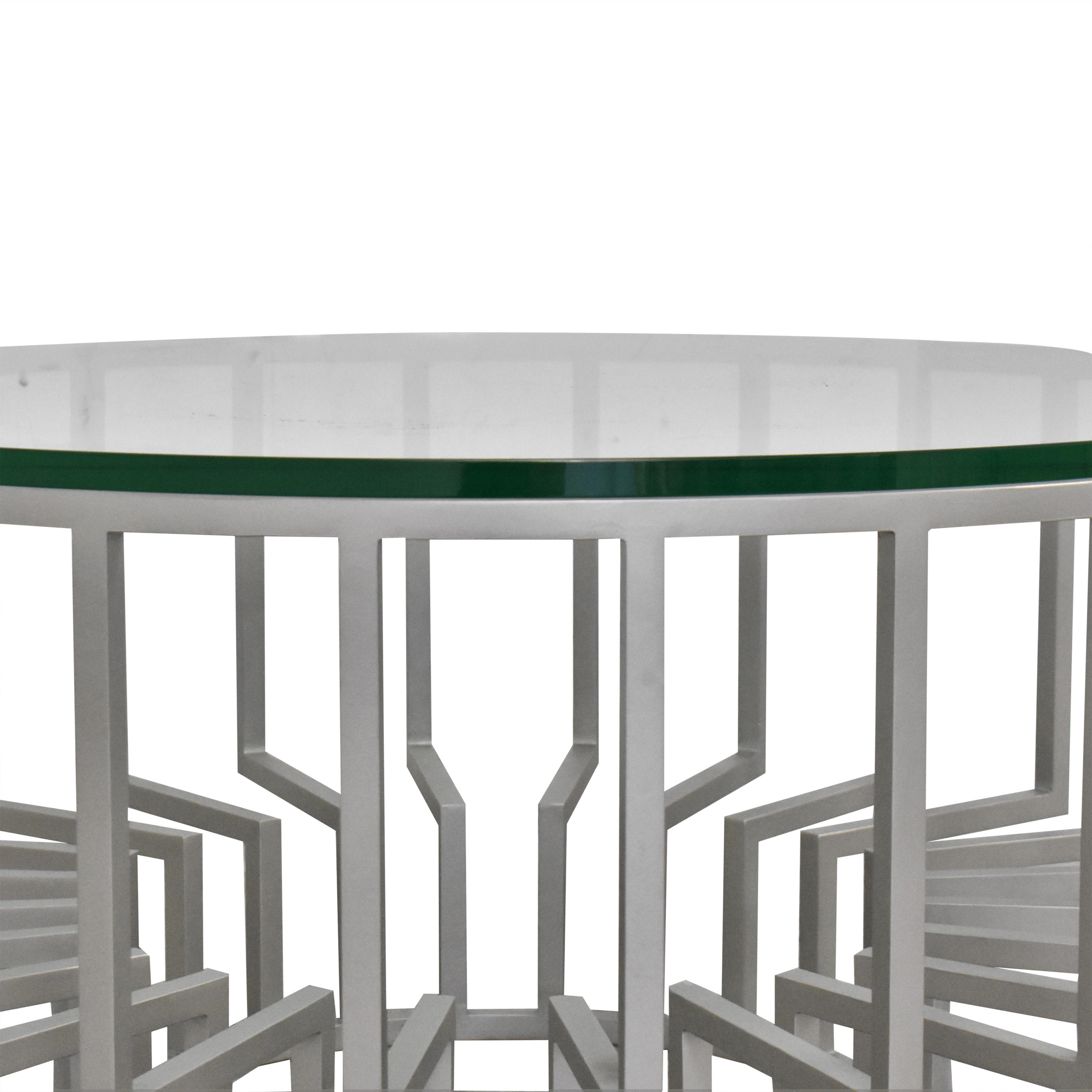 shop Round Translucent Coffee Table  Coffee Tables