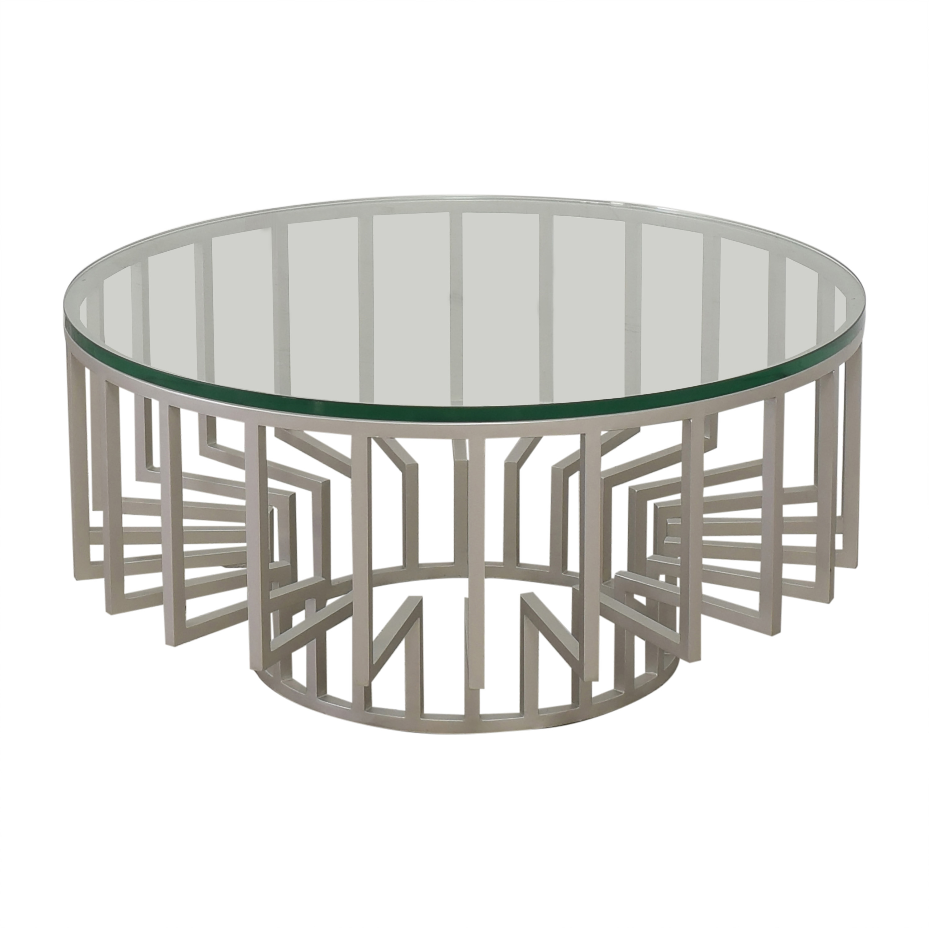 buy  Round Translucent Coffee Table online