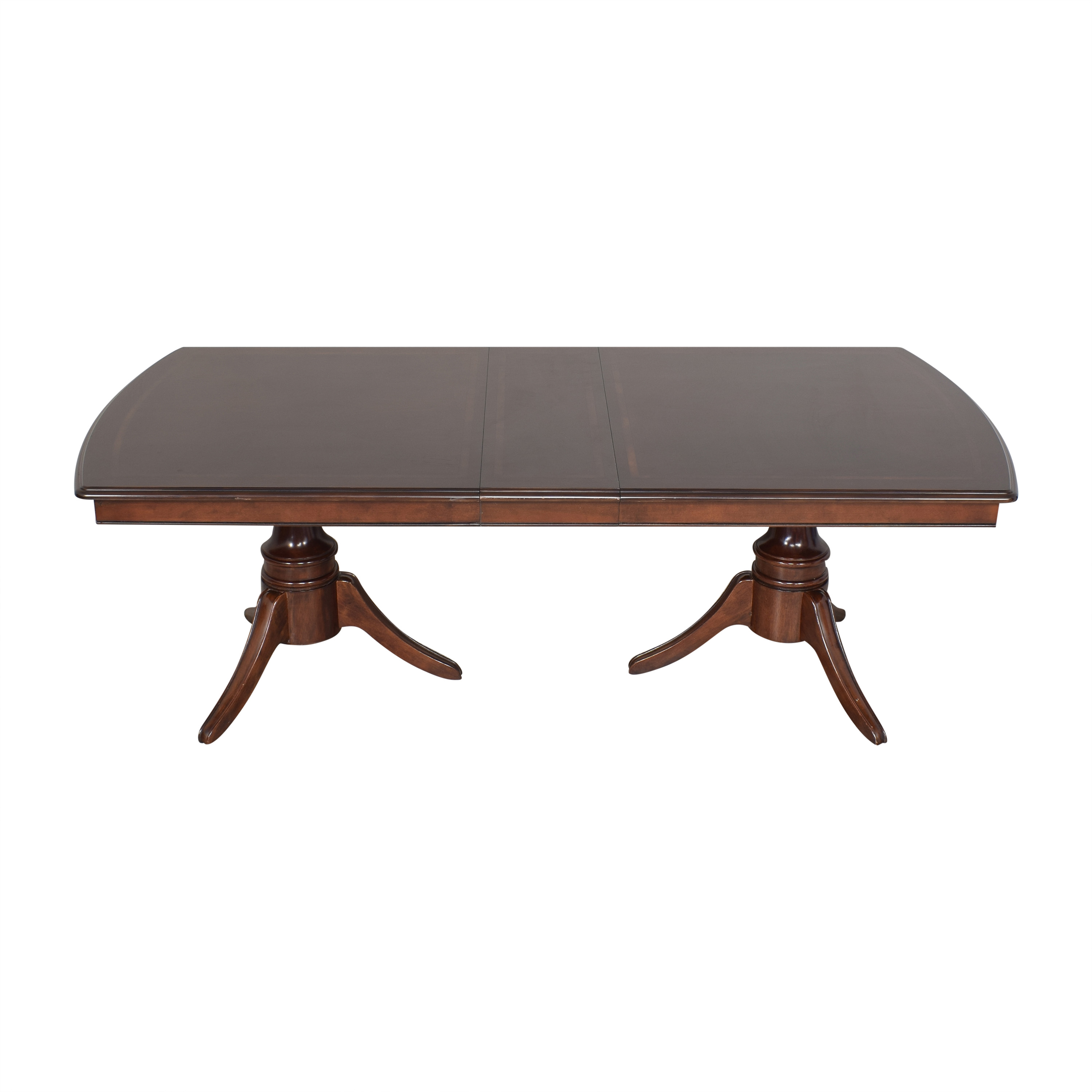 Raymour & Flanigan Raymour & Flanigan Extendable Dining Table ct