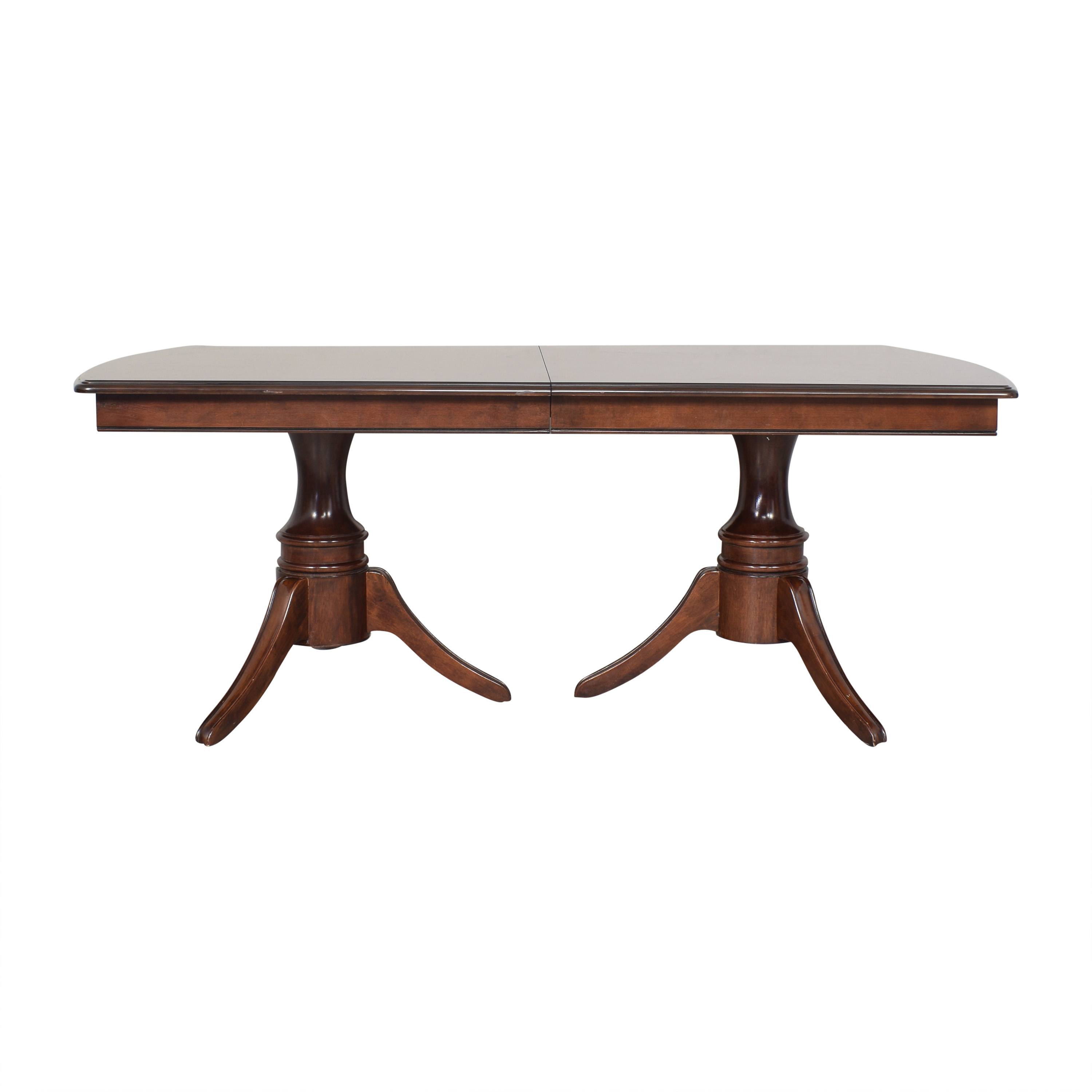 Raymour & Flanigan Raymour & Flanigan Extendable Dining Table used