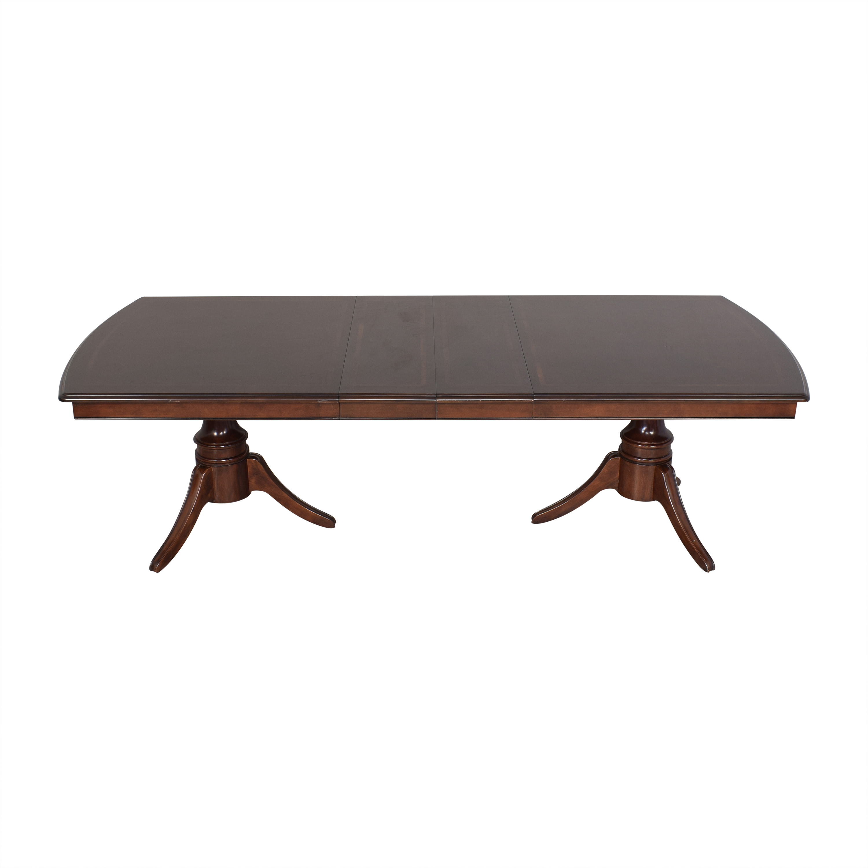 Raymour & Flanigan Raymour & Flanigan Extendable Dining Table second hand