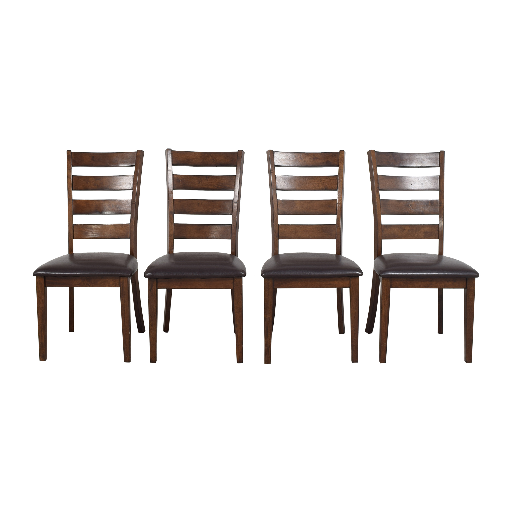 Raymour & Flanigan Raymour & Flanigan Ladder Back Dining Chairs
