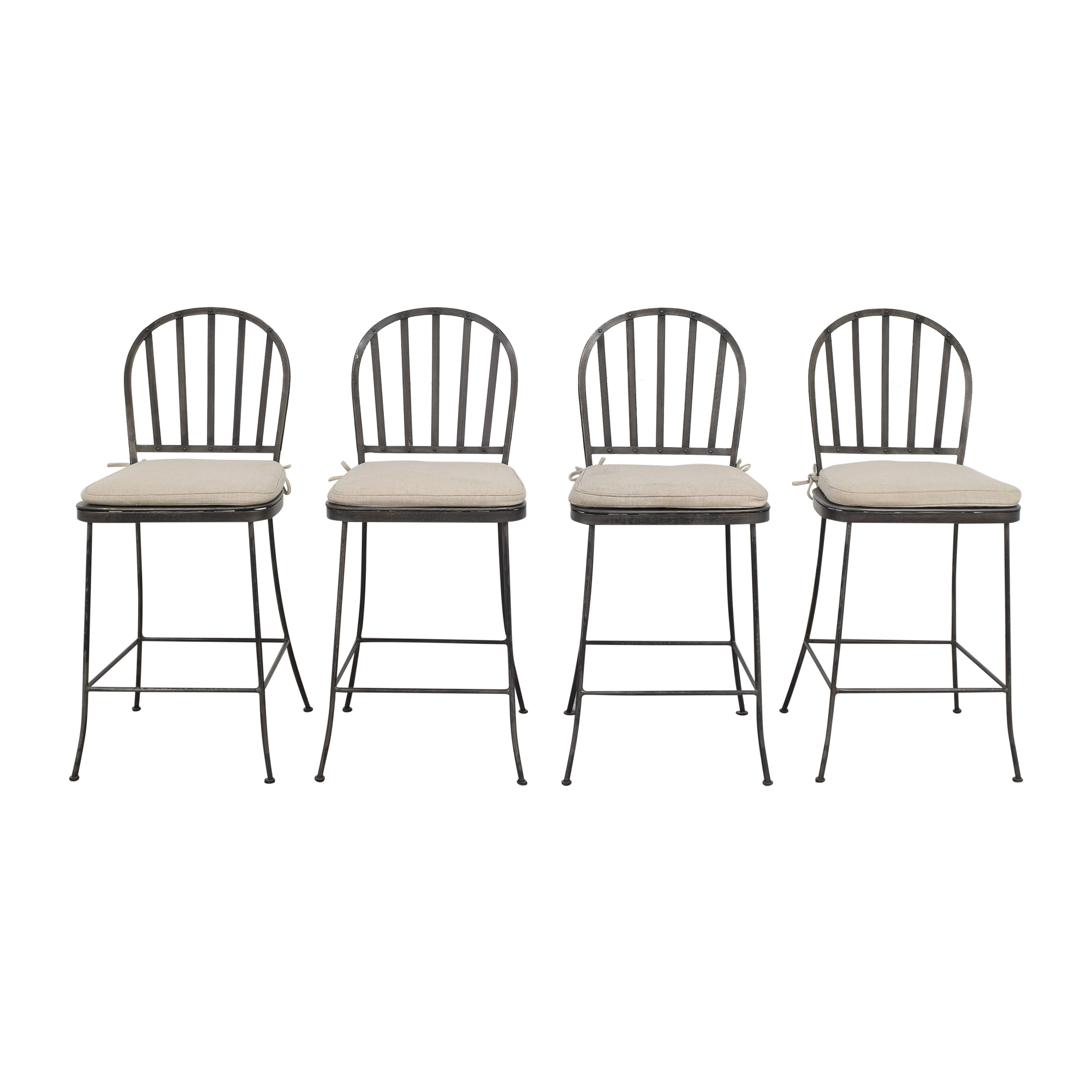 shop Pottery Barn Bar Stools with Cushions Pottery Barn Chairs